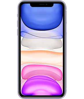 apple iphone 11 violett
