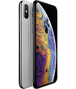 iphone xs silver  1